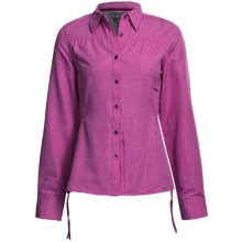 Outdoor Research Reflection Shirt - UPF 50+, Roll-Up Long Sleeve (For Women) in Aster - Closeouts