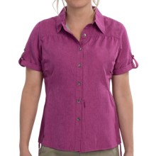 Outdoor Research Reflection Shirt - UPF 50+, Short Sleeve (For Women) in Aster - Closeouts