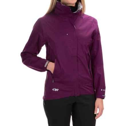 Outdoor Research Reflexa Jacket - Waterproof (For Women) in Berry - 2nds