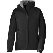 Outdoor Research Reflexa Jacket - Waterproof (For Women) in Black - 2nds