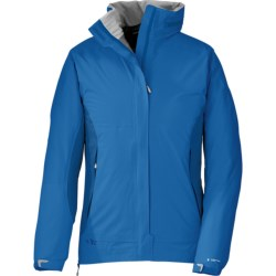 Outdoor Research Reflexa Jacket - Waterproof (For Women) in Mulberry/Desert Sunrise