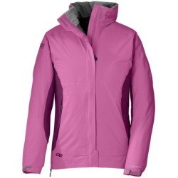 Outdoor Research Reflexa Jacket - Waterproof (For Women) in Crocus/Orchid