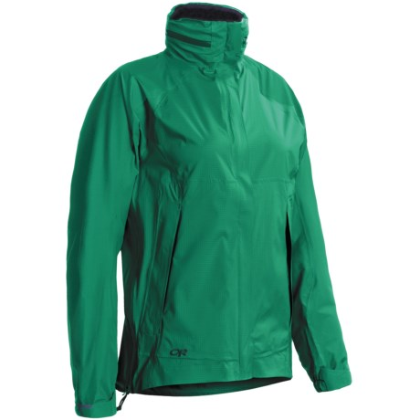 Outdoor Research Reflexa Jacket - Waterproof (For Women) in Jade