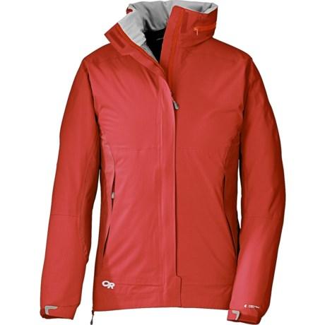 Outdoor Research Reflexa Jacket - Waterproof (For Women) in Crocus/Orchid