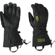 Outdoor Research Remote Gore-Tex® Gloves - Waterproof, Insulated (For Men) in Black - Closeouts