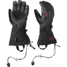 Outdoor Research Remote Gore-Tex® Gloves - Waterproof, Insulated (For Women) in Black - Closeouts