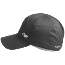 Outdoor Research Revel Convertible Hat - UPF 15 (For Men and Women) in Black/Chrome - Closeouts