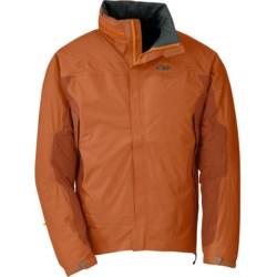 Outdoor Research Revel Jacket - Waterproof (For Men) in Ember/Diablo