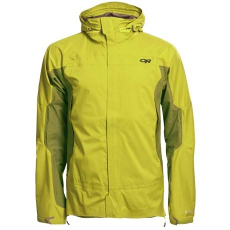 Outdoor Research Revel Jacket - Waterproof (For Men) in Hops