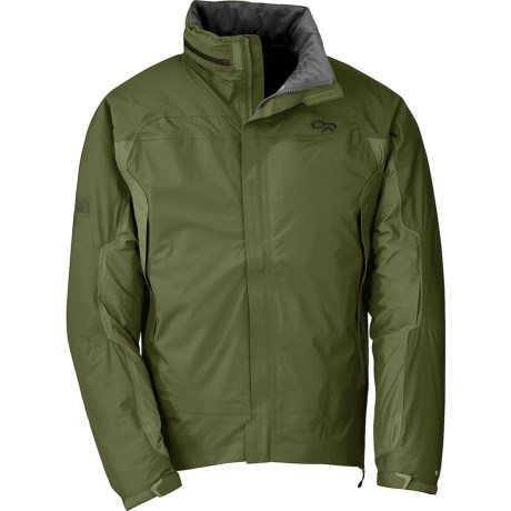 Outdoor Research Revel Jacket - Waterproof (For Men) in Olive