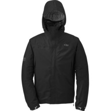 Outdoor Research Revel Trio Jacket - Waterproof, Insulated, 3-in-1 (For Men) in Black - Closeouts