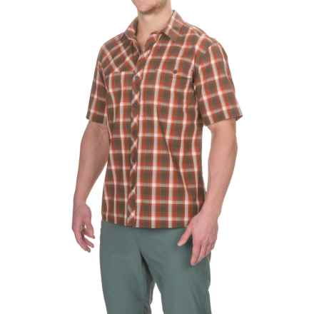 Outdoor Research Riff Shirt - CoolMax®, Short Sleeve (For Men) in Earth - Closeouts