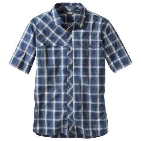 Outdoor Research Riff Shirt - CoolMax®, Short Sleeve (For Men) in Night