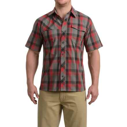 Outdoor Research Riff Shirt - CoolMax®, Short Sleeve (For Men) in Pewter/Agate - Closeouts