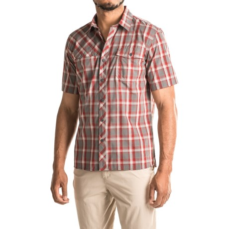 photo: Outdoor Research Riff Shirt hiking shirt