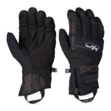 Outdoor Research Riot Gloves - Waterproof, Insulated (For Men) in Black - Closeouts