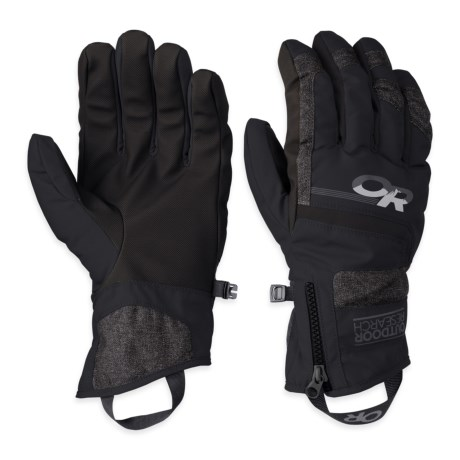 Outdoor Research Riot Gloves Waterproof, Insulated (For Men)