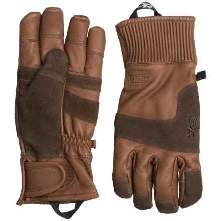 Outdoor Research Rivet Gloves (For Men) in Coffee - Closeouts