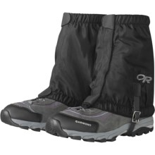 Outdoor Research Rocky Mountain Low Gaiters (For Kids) in Black - Closeouts