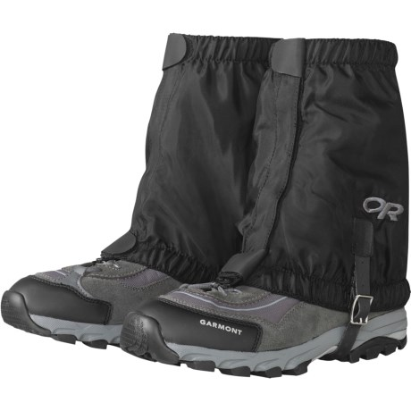 Outdoor Research Rocky Mountain Low Gaiters (For Kids) in Black