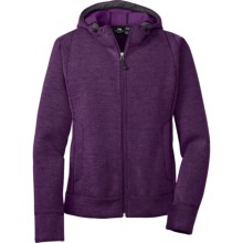 Outdoor Research Salida Hoodie Sweater - Zip Front (For Women) in Plum - Closeouts