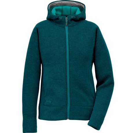 Outdoor Research Salida Sweater - Zip Front (For Women) in Atlantis
