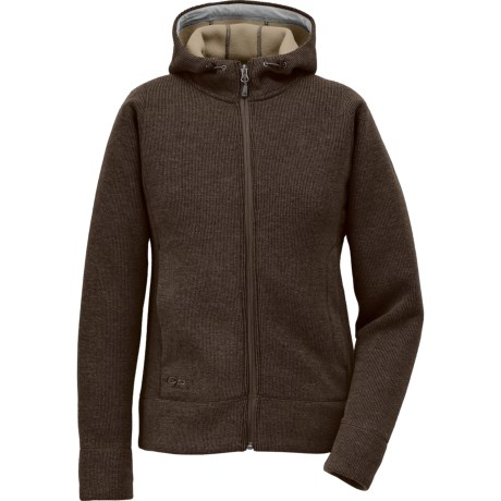 Outdoor Research Salida Sweater - Zip Front (For Women) in Earth