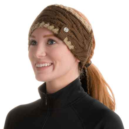 Outdoor Research San Juan Ear Band - Wool Blend (For Women) in Earth/Cafe - Closeouts