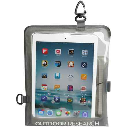 Outdoor Research Sensor Dry Pocket Premium Tablet Cover in Charcoal - Closeouts