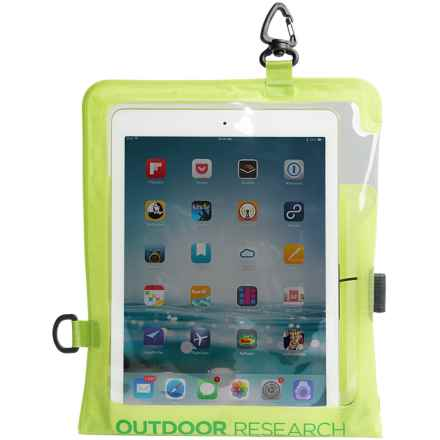 Outdoor Research Sensor Dry Pocket Premium Tablet Cover in Lemongrass - Closeouts