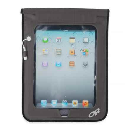 Outdoor Research Sensor Dry Pocket Tablet Cover in Charcoal - Closeouts