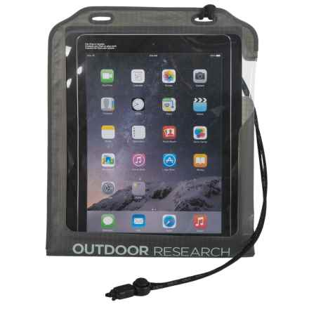 Outdoor Research Sensor Dry Pocket - Waterproof in Charcoal - Closeouts