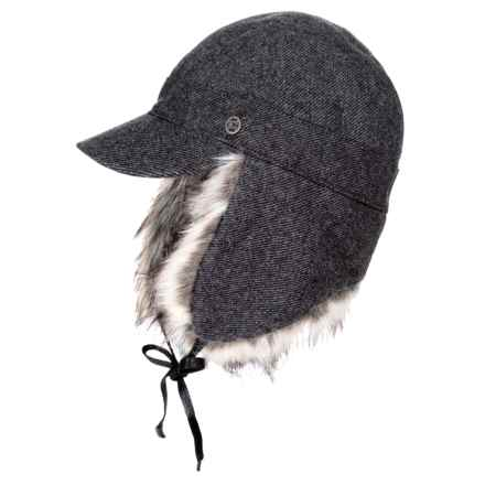 Outdoor Research Serra Cap - Insulated, Faux Fur (For Women) in Charcoal - Closeouts
