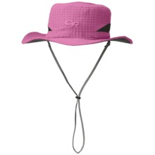 Outdoor Research Sol Hat (For Men and Women) in Crocus Check - Closeouts