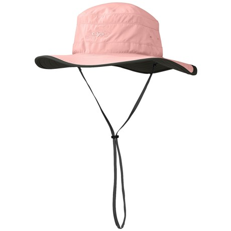 Outdoor Research Solar Roller Hat (For Women) in Candy/Dark Grey