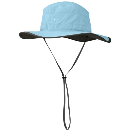 Outdoor Research Solar Roller Hat (For Women) in Pool/Dark Grey