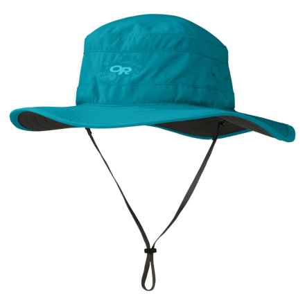 Outdoor Research Solar Roller Sun Hat - UPF 50+ (For Women) in Alpine Lake/Dark Grey - Closeouts