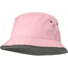 Outdoor Research Solaris 13 Bucket Hat - UPF 50+, Crushable (For Women) in Candy/Dark Grey - Closeouts
