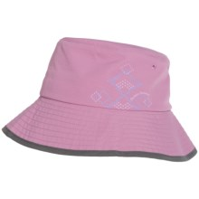 Outdoor Research Solaris 13 Bucket Hat - UPF 50+, Crushable (For Women) in Crocus/Dark Grey - Closeouts