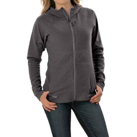 Outdoor Research Soleil Hoodie Sweatshirt - Trim Fit, Full Zip (For Women) in Charcoal - Closeouts