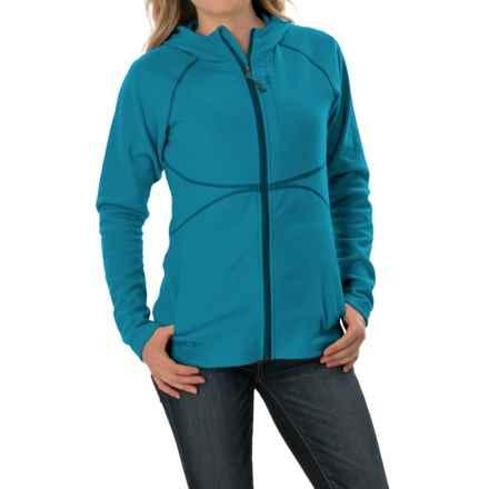 Outdoor Research Soleil Hoodie Sweatshirt - Trim Fit, Full Zip (For Women) in Oasis - Closeouts