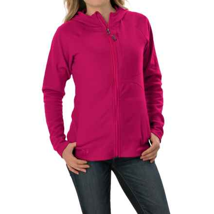 Outdoor Research Soleil Hoodie Sweatshirt - Trim Fit, Full Zip (For Women) in Sangria - Closeouts