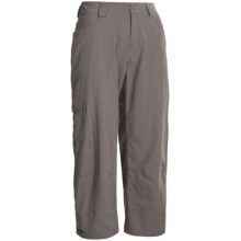 Outdoor Research Solitaire Capris - UPF 50, Supplex® Nylon (For Women) in Mushroom - Closeouts