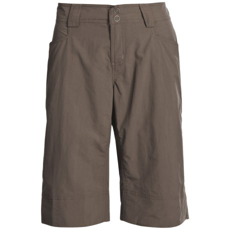 Outdoor Research Solitaire Shorts - UPF 50, Supplex® Nylon (For Women) in Mushroom