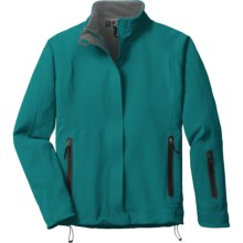 Outdoor Research Solitude Jacket - Soft Shell (For Women) in Neptune - Closeouts