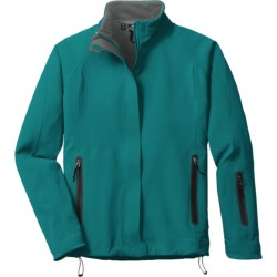 Outdoor Research Solitude Soft Shell Jacket (For Women) in Salsa