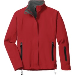 Outdoor Research Solitude Soft Shell Jacket (For Women) in Neptune