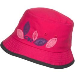 Outdoor Research Solstice Bucket Hat - UPF 30 (For Kids) in Desert Sunrise