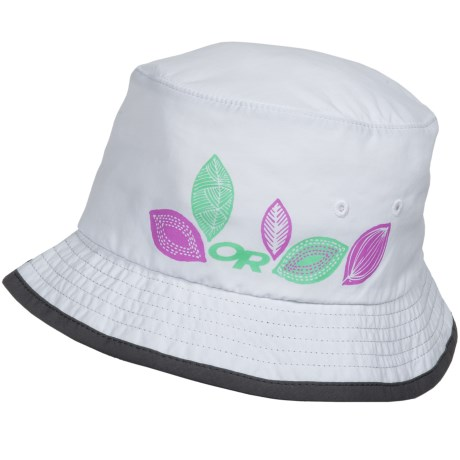 Outdoor Research Solstice Bucket Hat - UPF 30 (For Kids) in White
