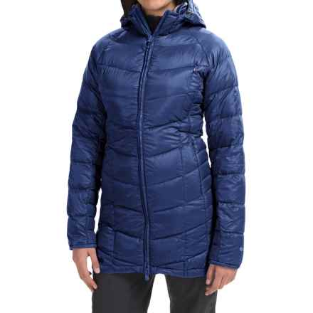 Outdoor Research Sonata Down Hooded Parka - 650 Fill Power (For Women) in Baltic - Closeouts